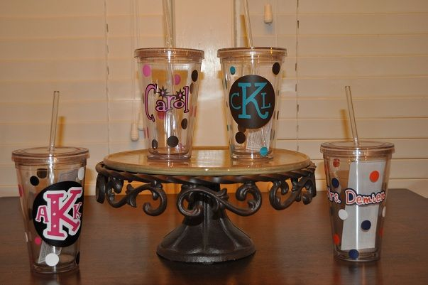 Tumblers: Silhouette Projects, Cricut Gift Ideas, Cricut Ideas Projects, Cricut Vinyl Projects, Cricut Scrapbooking Ideas, Vinyl Cricut Projects, Project Ideas, Silhouette Ideas, Craft Ideas
