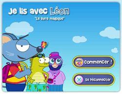 """""""Je lis avec Léon"""" un outil d'accompagnement pour l'apprentissage de la lecture"""