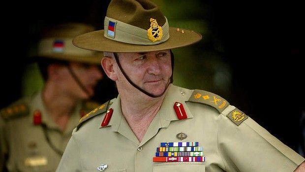 Australian Governor General, Peter Cosgrove.