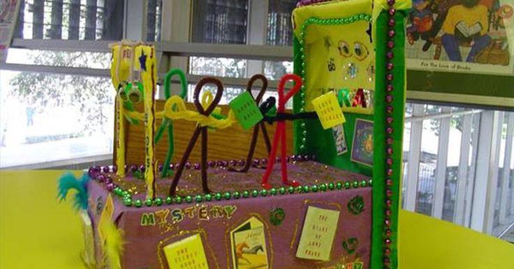 Estratégias para decorar um projeto infantil de um carro alegórico com caixas de sapato. Carros alegóricos de caixas de sapato proporcionam às crianças a oportunidade de usarem a criatividade, assim como aprimorar suas habilidades em artes e artesanatos, já que elas podem criar o desfile de seus sonhos. Tudo o que você precisa são algumas caixas de sapato com suas tampas, cartolina, cola, giz de cera ou marcadores e tesouras. Procure ...