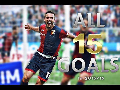 Leonardo Pavoletti - All 15 Goals in 2015/16 with Genoa FC - YouTube