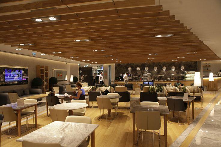 Istanbul Ataturk Airport TAV Primeclass Lounge