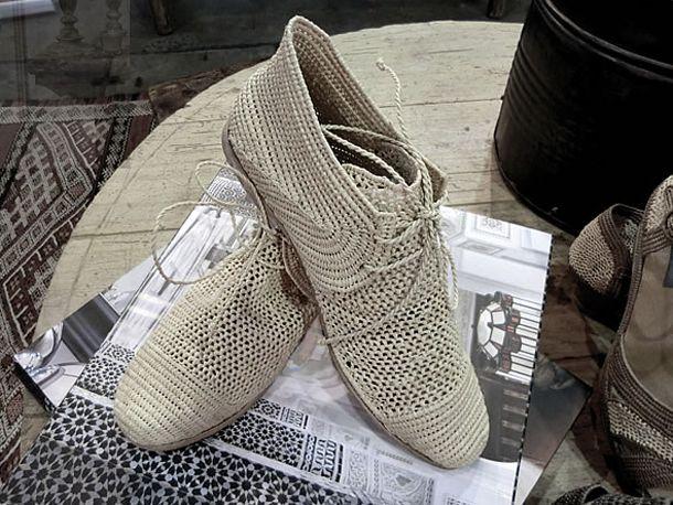 Summer footwear by Rafia Chic