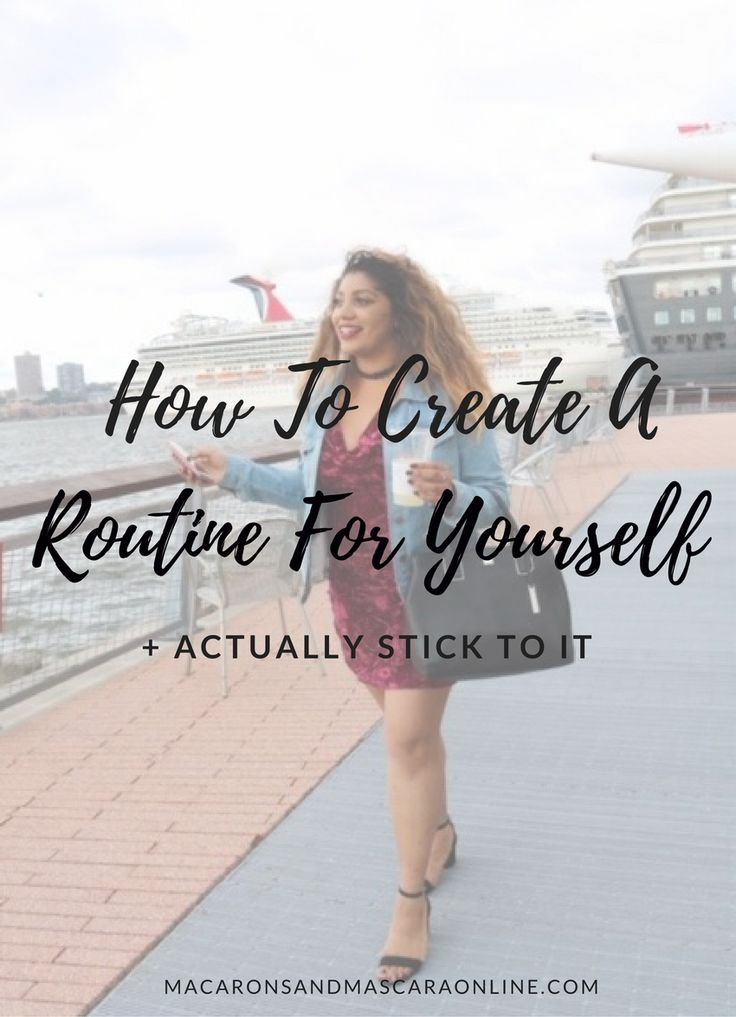 If you've struggled with obtaining your goals in the past, it may be because you never had a routine. Here's how to create a routine and stick to it.
