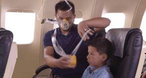 Elder Andersen oxygen mask