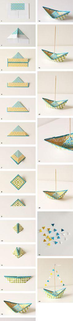 die 25 besten ideen zu origami schiff auf pinterest. Black Bedroom Furniture Sets. Home Design Ideas