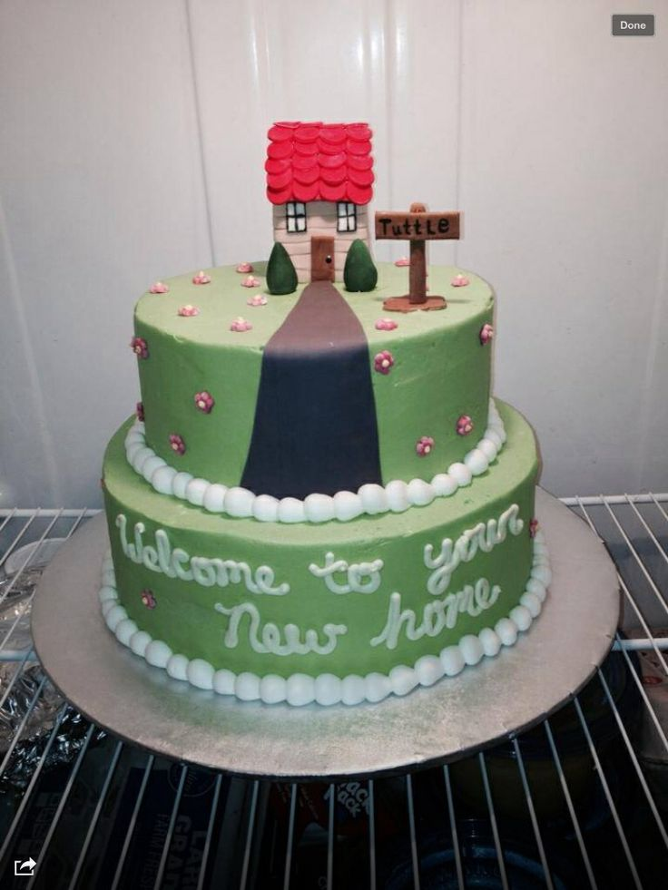 Cake Designs For Housewarming : 54 Best images about Housewarming Party on Pinterest ...