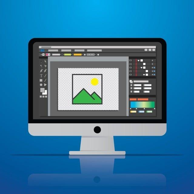 صور جرافيك صورة المحرر البرمجيات رمز جهاز الكمبيوتر على سطح المكتب انا أيقونات الكمبيوتر أيقونات سطح المكتب أيقونات البرامج Png والمتجهات للتحميل مجانا Desktop Computers Computer Picture Editor
