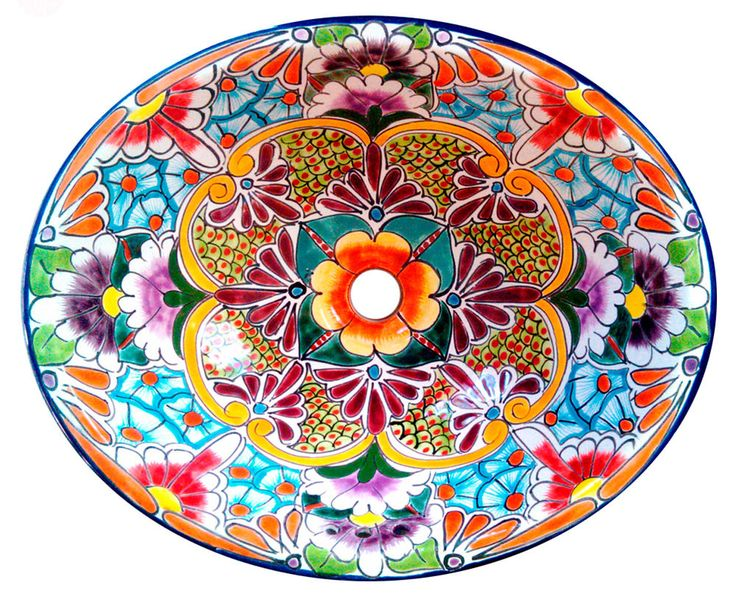 Mexican ceramic talavera sink same design as the o…