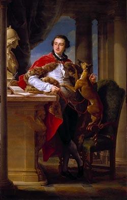 Charles, 4th Earl of Northampton, 1758 by Pompeo Batoni , 1708 - 1787