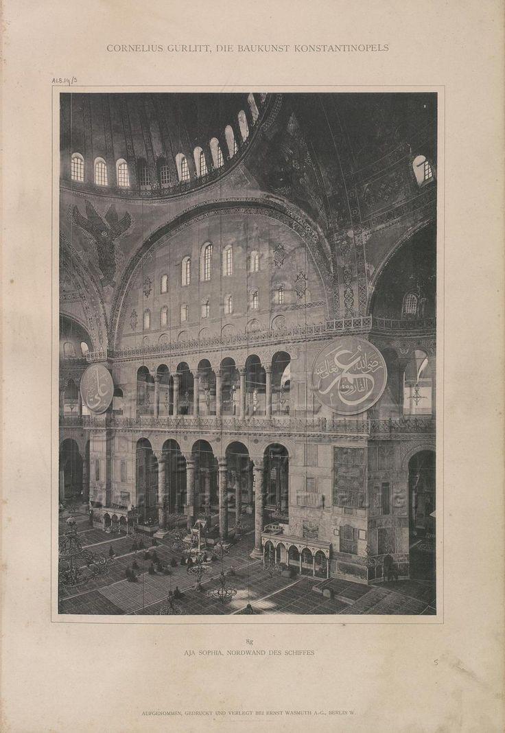 [Ottoman Empire] Hagia Sophia Mosque, Istanbul (Osmanlı Dönemi Ayasofya Camii)