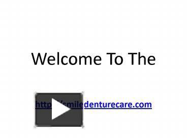 Partials dentures :