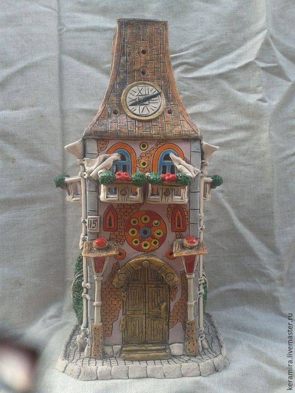 Купить Светильник-Ночник - разноцветный, розовый, светильник ручной работы, ночник, керамика ручной работы
