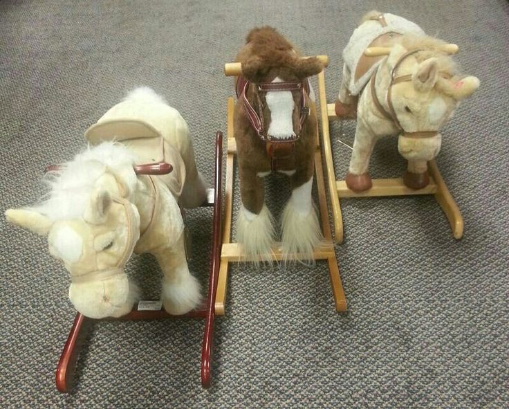 Traditional style rocking horses from $12