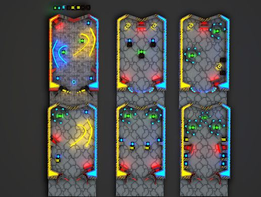 PinBall PlayMaker Kit is a PC and Mobile PinBall Game Template. This project is made using Hutong Games Playmaker. Because it's built with Playmaker it's very easy to grasp the logic and the mechanics of the game. The core mechanics reflects  uturistic Style pinball machine with lights, rails, bumpers, and flippers.  Part of a huge linked collection available from HavolkStudios. Ideal for games, sims or pre-render work.  Game Environment is low-poly model ideal for game engines (Game-Ready)…