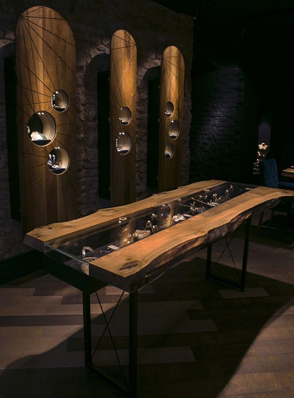 Gasia jewellery store design at Galata, Istanbul | Retail design | Luxury  | Jewellery display