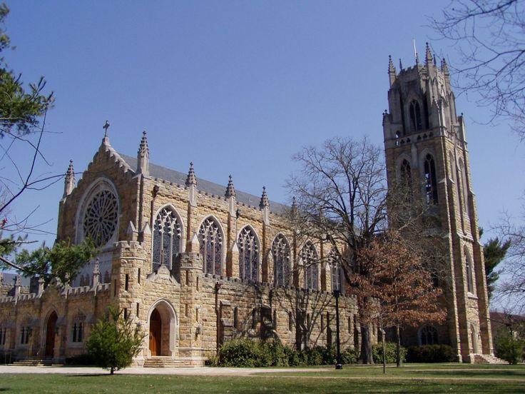 All Saints Chapel, Sewanee University-Exterior