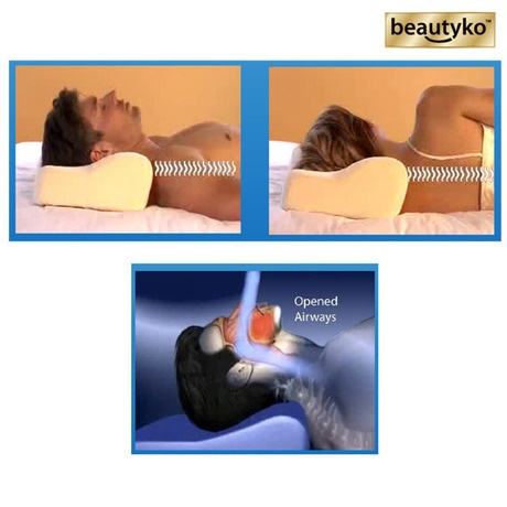 i found this amazing beautyko comfort stop snoring silence foam memory pillow at