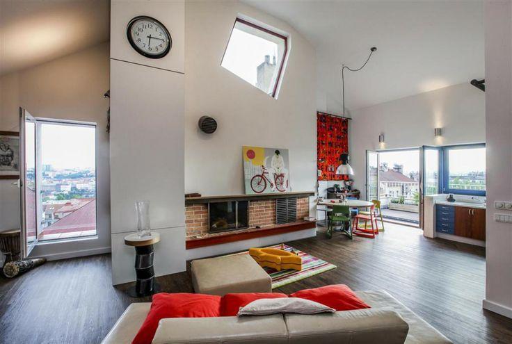 4 bedroom (5+kk) penthouse apartment for sale, Chodská, Prague 2, Vinohrady   Boutique Reality
