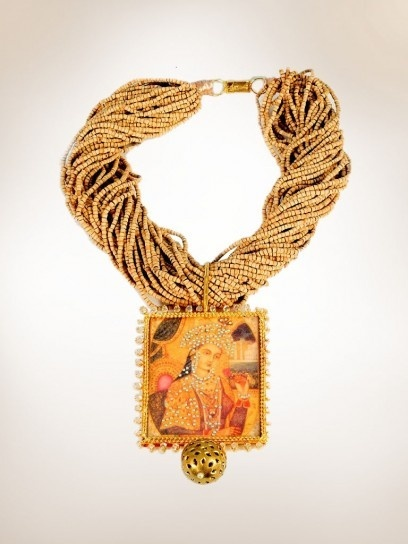 statement Indian necklace