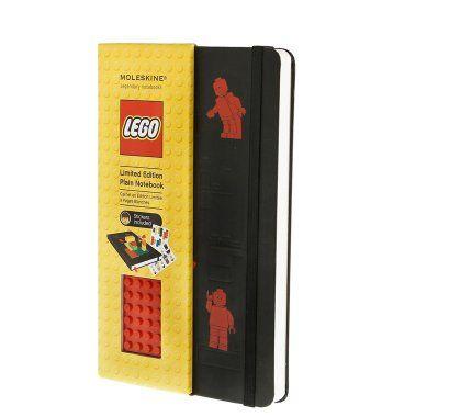 Lego w połączeniu z czymkolwiek wygląd zawsze dobrze. Ten notes jest dla mnie po prostu rewelacyjny. Jeśli nadarzy się okazja, to na pewno sprawię sobie egzemplarz.