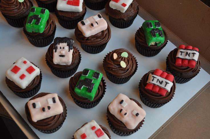 Minecraft cupcakes | Summer!☀ | Pinterest | Cupcake ...