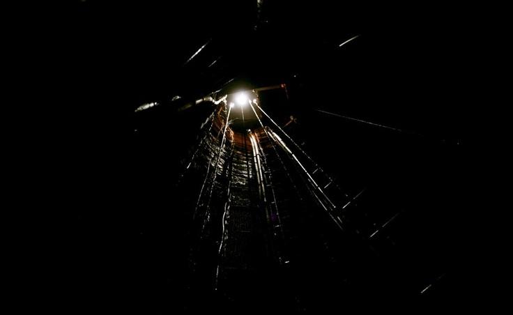 Tour por la antigua mina de carbon ubicada en Lota, pais Chile Foto : Alfonso Diaz