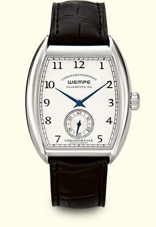 Glashütte Uhren von Wempe - Uhren nach deutscher DIN Norm