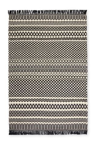 Buy Monochrome Textured Rug from the Next UK online shop