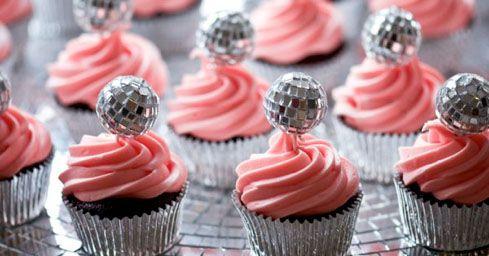 Disco Cupcakes :) Party ~ disco Pinterest Cakes ...