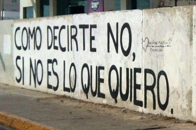 Como decirte no,    Si no es lo que quiero  #lavidaesarte #poetica