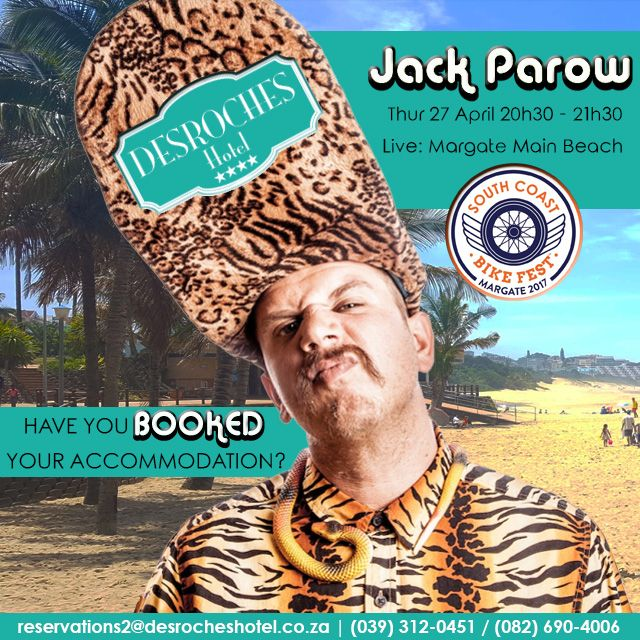 Teaser of what is to come: #liveacts you can expect Thurs 27 April 2017 @SCBikeFest FOR MORE INFO VISIT OUR WEBSITE. LINK IN BIO. @JackParow #SCBF2017