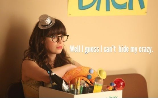 Thanks, Jess, for summing up my life in one line :) #NewGirl