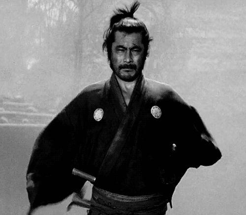 lettered | Yojimbo and all the Toshiro Mifune