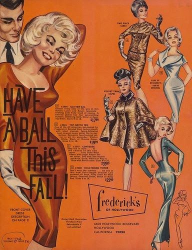 1963 Fredericks of Hollywood--NOW YOU, TOO, CAN LOOK LIKE A WANNABE JOI LANSING OR BARBARA NICHOLS!