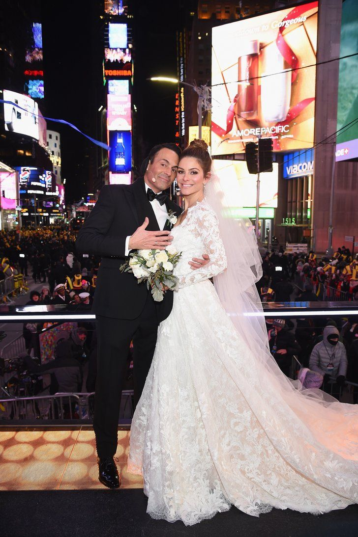 Maria Menounos Rang In the New Year by Pulling Off a Surprise Wedding on Live TV