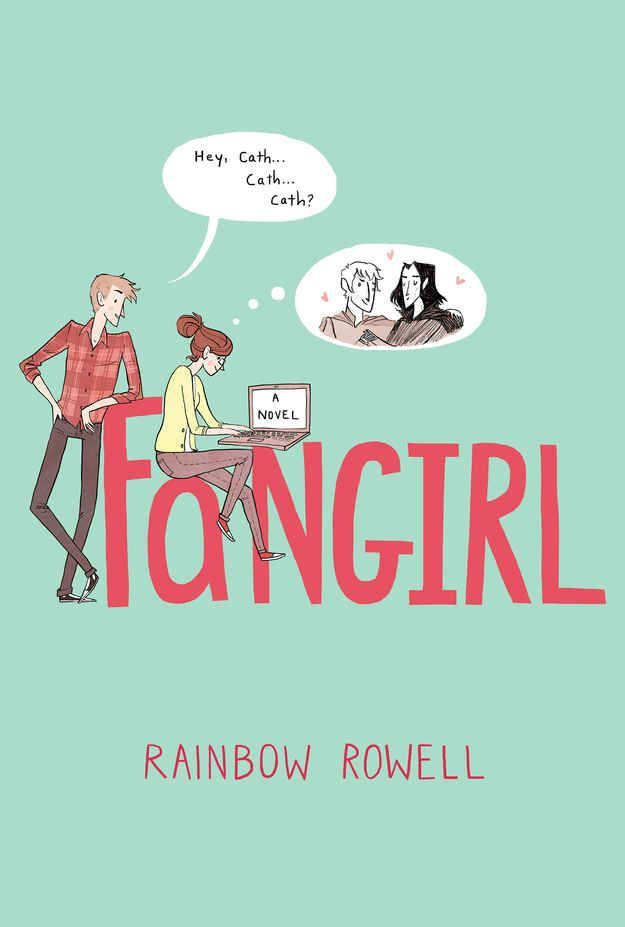 Fangirl, by Rainbow Rowell | LOVED his book, listened to the audio read by Rebecca Lowman and she did such a great job