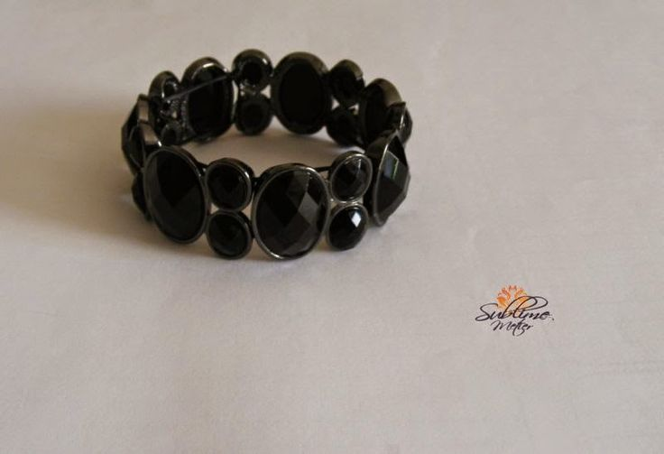 Sublime Metier: Black Bracelet