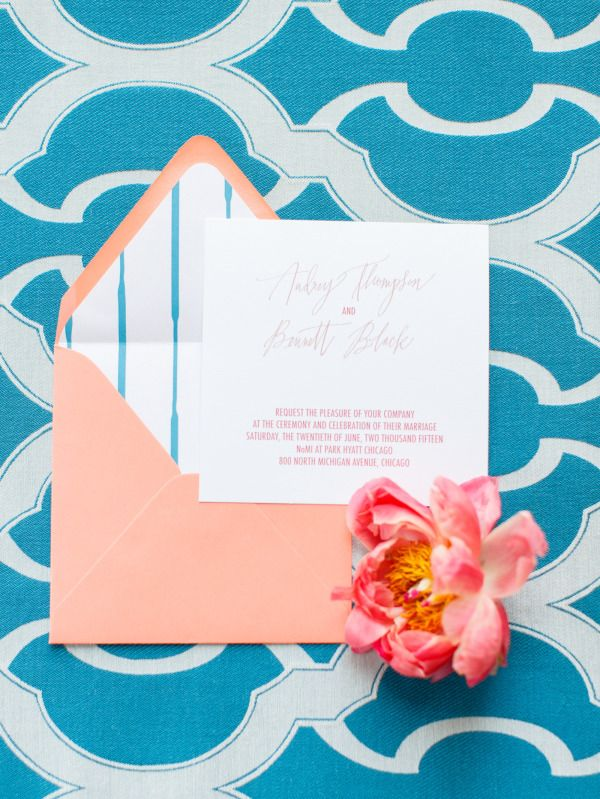 26 best ottawa wedding invitation images on pinterest ottawa to be totally honest i wasnt always the biggest fan of bright red wedding palettes stopboris Gallery