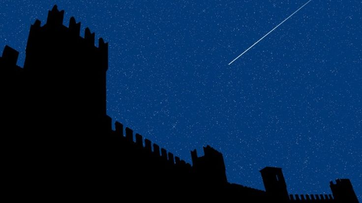 Castle of Gradara - Saint Lawrence night