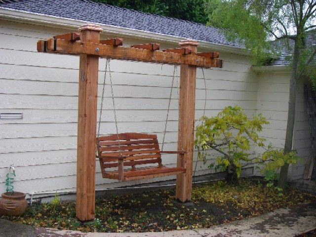 Free Standing Yard Swings