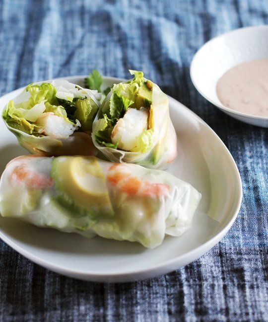 how to cook shrimp for salad rolls