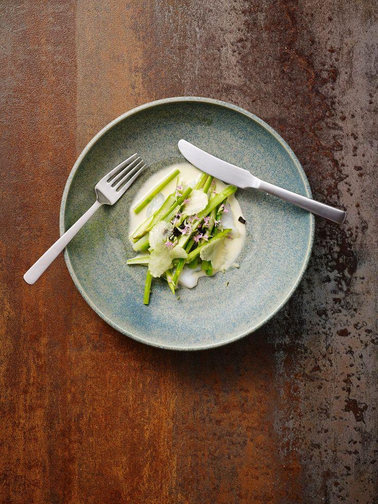 Mikkel Olsen.  Kay Bojesen Grand Prix lunch fork and lunch knife. Photo: Henrik Freek Kvist Christensen.  Kay Bojesen Grand Prix cutlery. Danish Design.