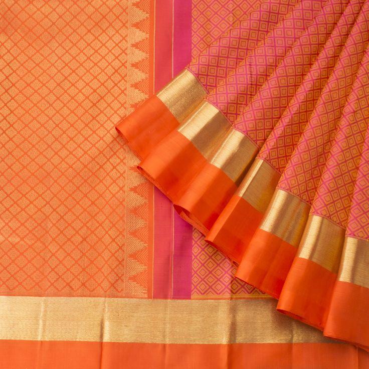 Kanakavalli Handwoven Kanjivaram Silk Sari 1013125 - Brands / Kanakavalli - Parisera