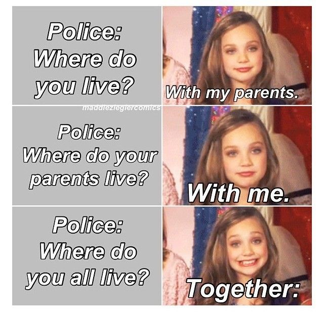 Dance Moms comic lol i do that all the time