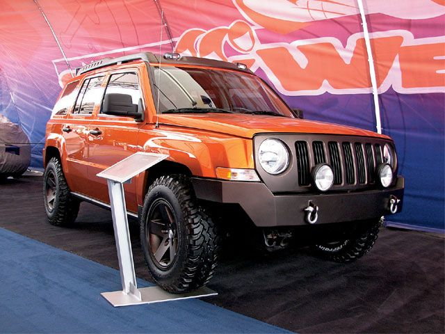 Lifted Jeep Patriot