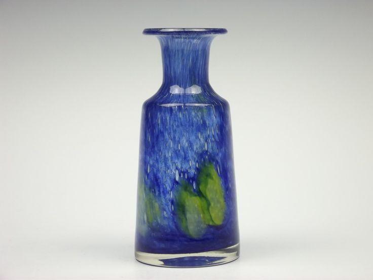 "Vase from range ""Flora"", 1970s, glasworks Prachen, H: 16,7 cm"