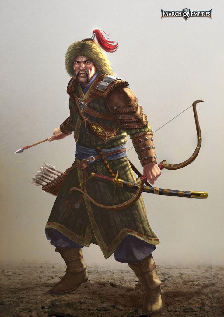 Tatar Hero, Toni Justamante Jacobs on ArtStation at https://www.artstation.com/artwork/tatar-hero