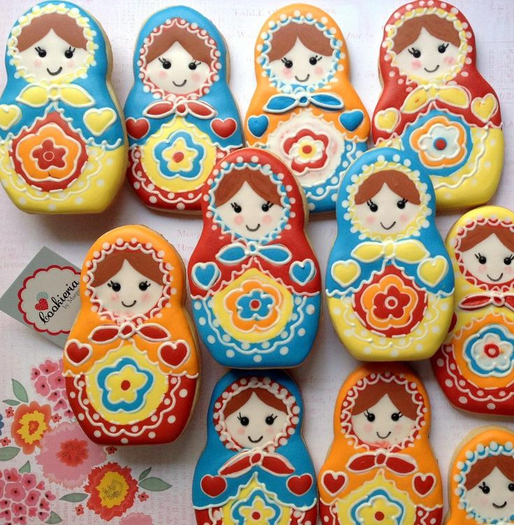 Matryoshka Dolls   Cookie Connection