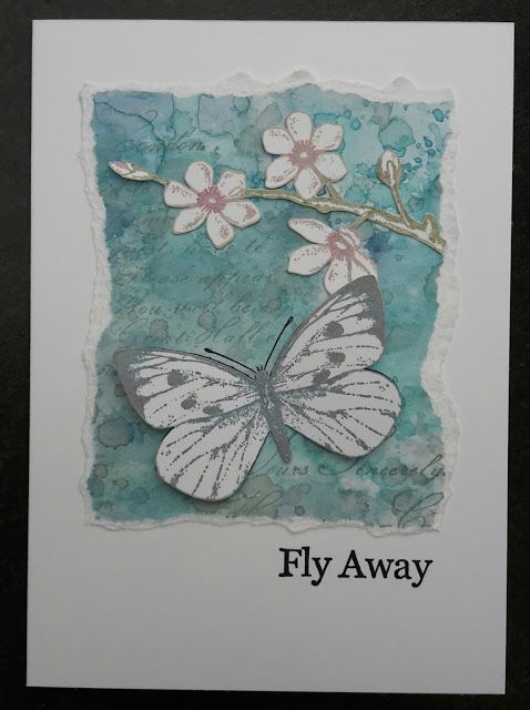 Anette's Scrapblog: Fly away...